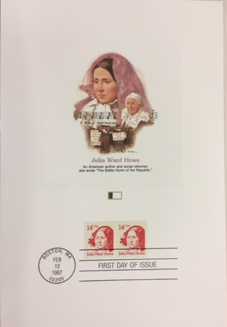 Fleetwood Proofcard Society Of The United States Stamp