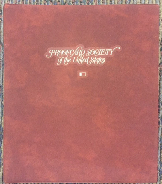 Fleetwood Proof Card Society Of The United States Stamp Collection Album March 1985 Oct