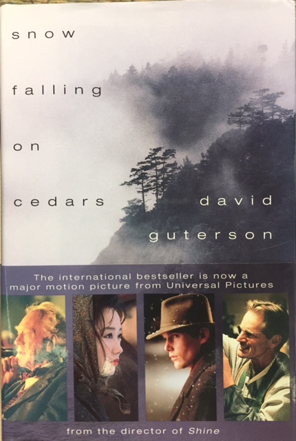 an analysis of the plot in the snow falling on cedars by david guterson