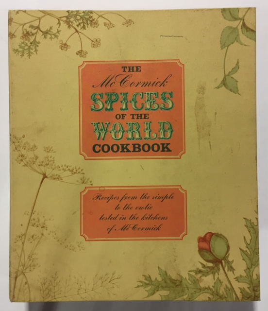 The McCormick Spices of the World Cookbook Ring-bound – 1964 by Mary Collins